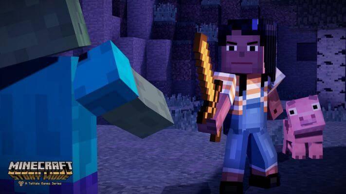 MINECRAFT STORY MODE Neues Spiel Von Telltale Games - Minecraft spiele anschauen