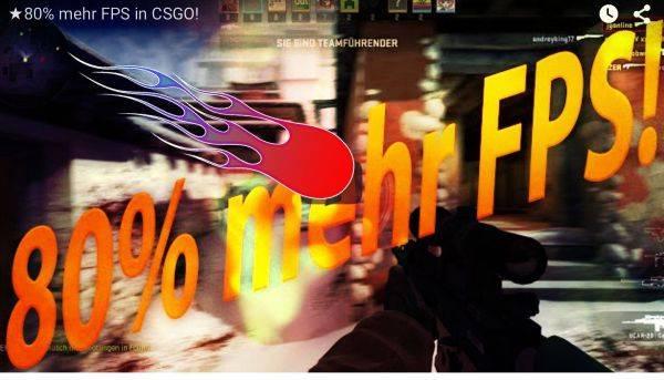 CS:GO schneller machen, mehr FPS