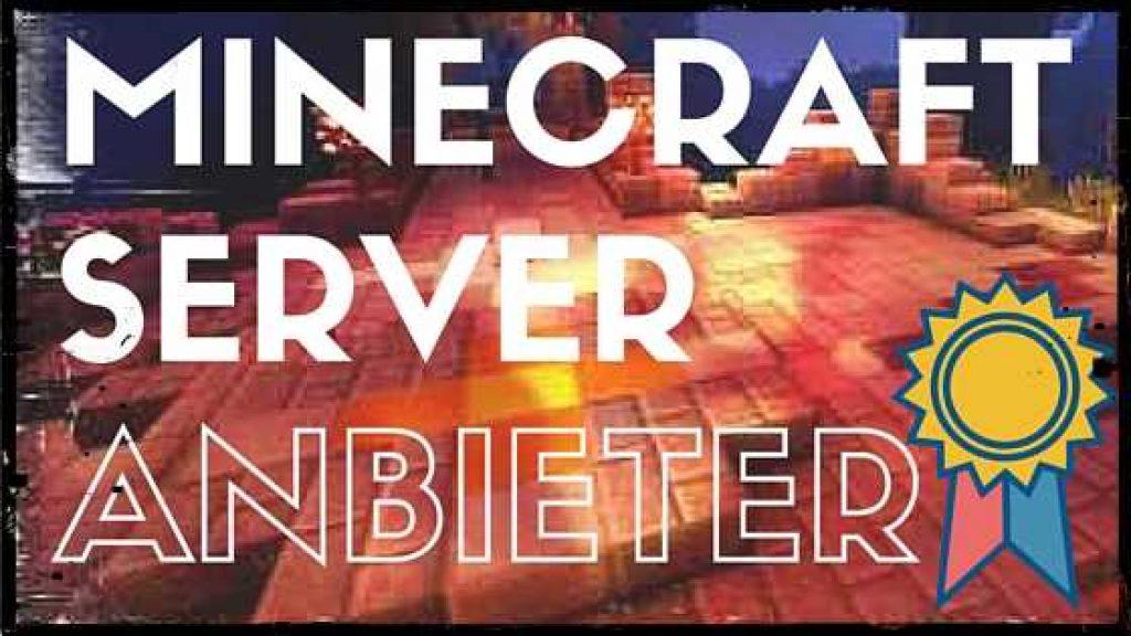 minecraft server mieten top 5 Anbieter hier bei uns