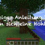 Minecraft Anleitung: Hoehle als Unterschlupf bauen und Schafe scheren um Wolle zu bekommen