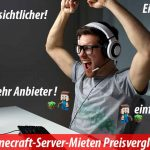neuer Minecraftserver Preisliste und Vergleich