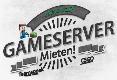 Logo der Seite Minecraft-GAMESERVER-Mieten.de