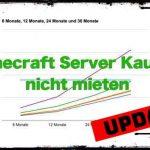 Minecraft Server Kaufen - ZAP Hosting Vergleich mit Breakeven Rechnung