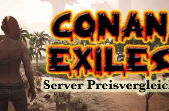 Conan Exiles Foto mit Barbarin in Oase
