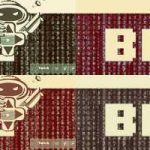 Das BitGame Logo in verschiedenen Farben Collage