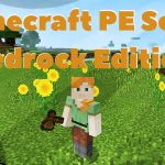 Minecraft PE Server: Wald und Sommerwiese.