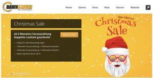 Dawn Server Gutschein Weihnachts-Gutschein