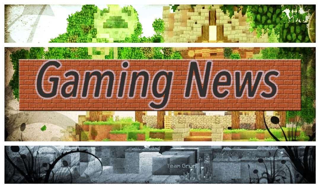 gaming news category shows minecraft dschungel world with header in front