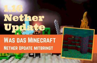 Minecraft Update Nether 1.16 in 2020