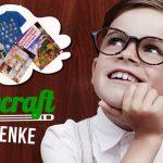 Junge denkt nach über Minecraft Geschenke die er sich wünscht
