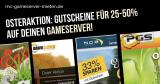 ► Neue Gameserver Gutscheine zu Ostern 2018 – Spare bis 50%