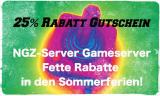 ➤ Fetter Gameserver-Gutschein bei NGZ ! Sommer-Aktion 2016