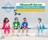 ⇧Bezako zieht nach: 20% Lifetime Rabatt zu Ostern Minecraft Server