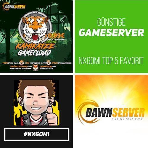 Minecraft Server mieten bei DAWNSERVER