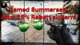 gamed! Summer Sale 2017 : Fetter 25% Gameserver-Gutschein✔
